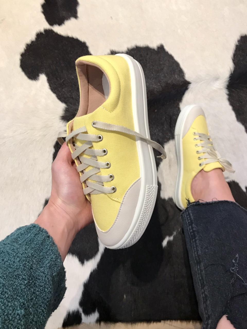 Tênis Belici Essencial Amarelo