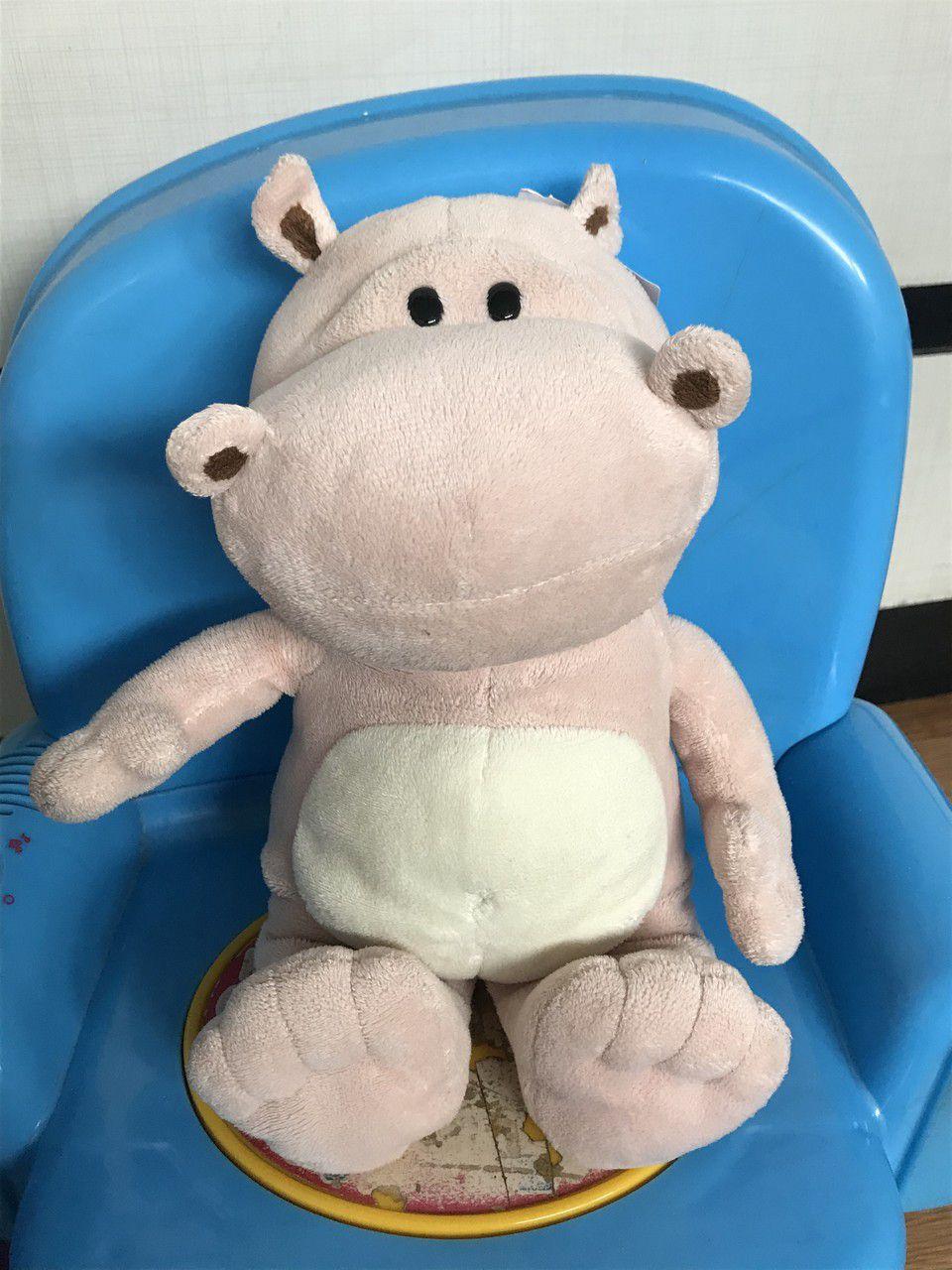 Brinquedo Hipopótamo Pelúcia
