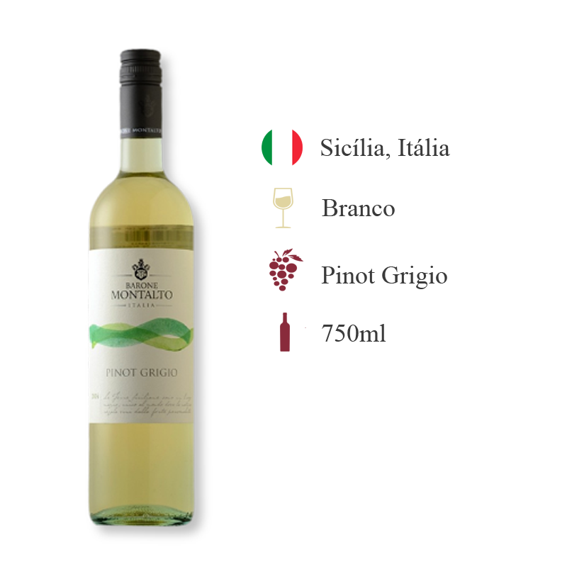 Barone Montalto Acquerello Pinot Grigio