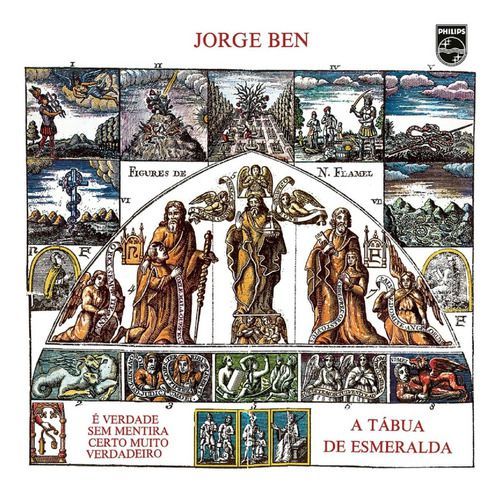 Jorge Ben A Tabua De Esmeralda Lp