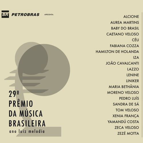 29 Premio Da Musica Brasileira Ano Luiz Melodia Cd
