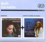 Beth Carvalho 2 por 1 Andança e Canta o Samba da Bahia Cd Digipack Duplo