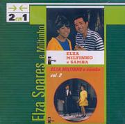 Elza Soares  2 em 1 Elza, Miltinho e Samba e Elza, Miltinho e Samba vol. 2 CD