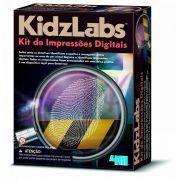 Kit de impressoes digitais  Kidzlabs   4M