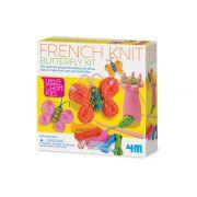 Kit de trico Frances Borboleta    4M