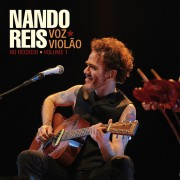 Kit Nando Reis Voz e violão no recreio     LP + Cassete