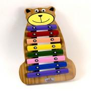 Metalofone Urso Colorido Vibratom