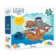 Quebra Cabeça Gigante Piratas   Babebi