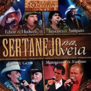 Sertanejo Na Veia 20 Sucessos Ao Vivo CD