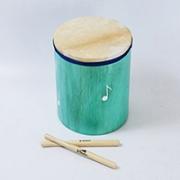 Surdinho de madeira infantil Vibratom Verde