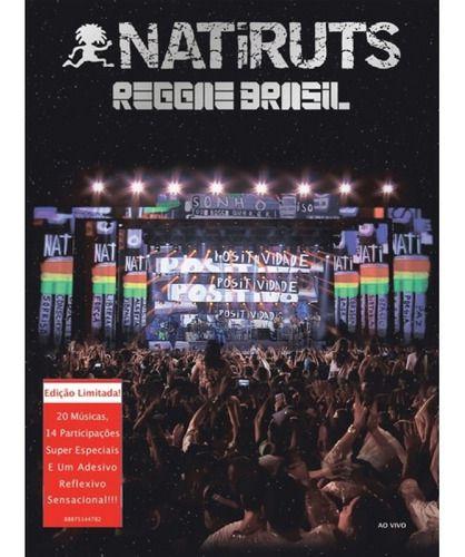Natiruts Reggae Brasil Box Dvd E Cd