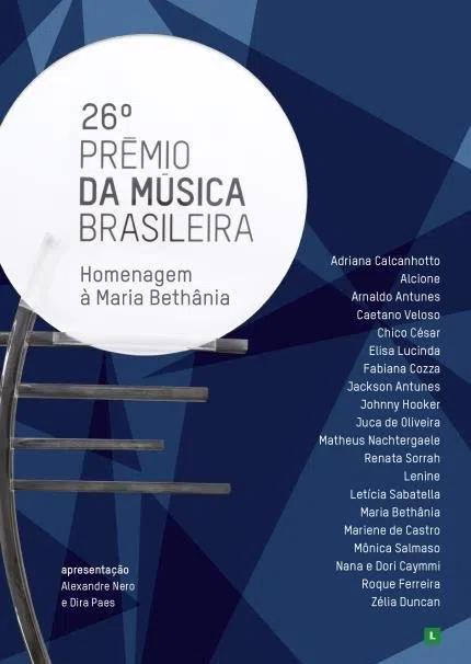 26 Premio da musica brasileira Homenagem a Maria Bethania    DVD