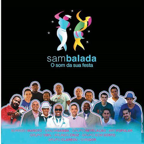 Sambalada O Som Da Sua Festa Cd
