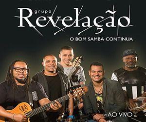 Grupo Revelação O Bom Samba Continua Ao Vivo Cd
