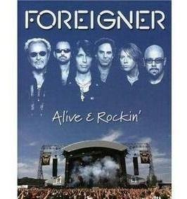Foreigner Alive E Rockin CD