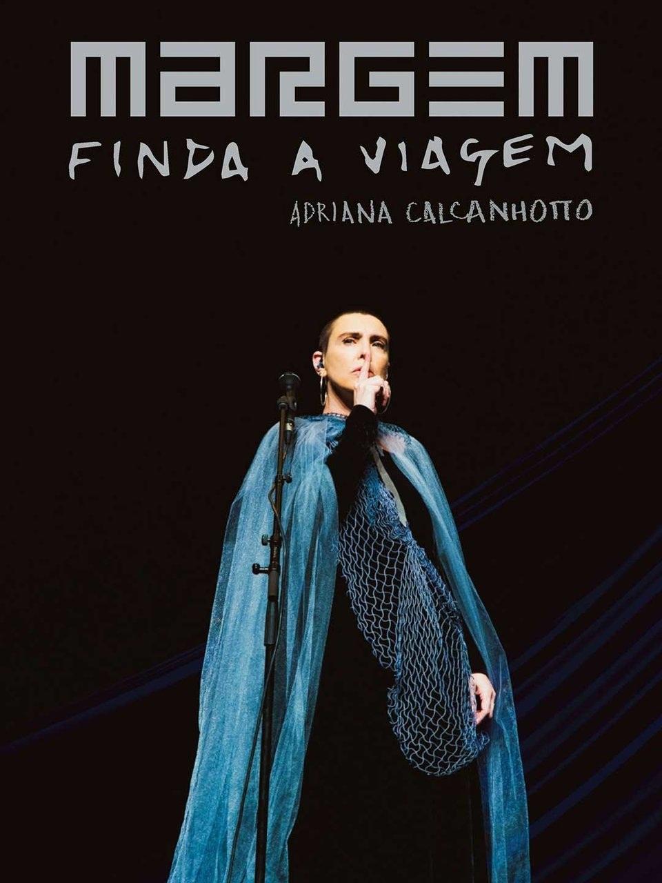 Adriana Calcanhotto Margem finda a viagem   DVD