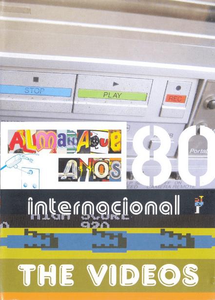 Almanaque  Anos 80 Internacional The Video DVD