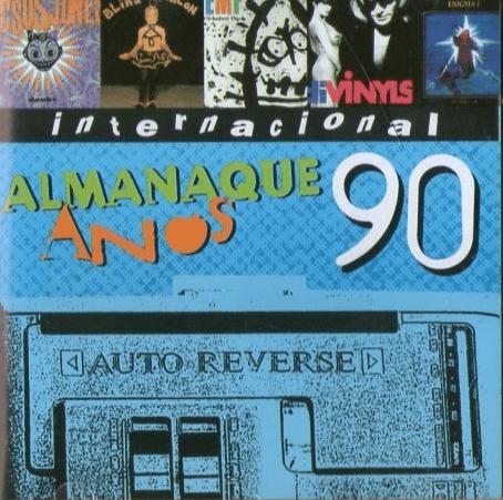 Almanaque  Anos 90 Internacional CD