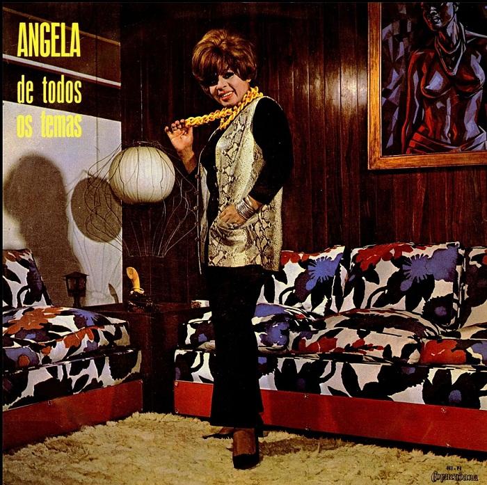 Angela Maria De todos os temas   CD