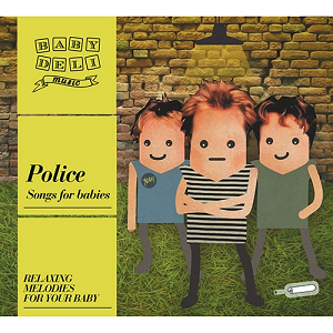 Baby Deli Music Police Songs For Babies CD