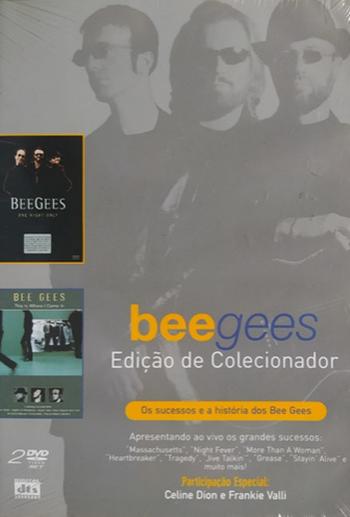 Bee Gees Edição Colecionador  DVD Duplo