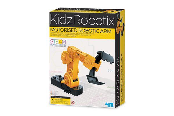 Braco Robotico Motorizado   Brinquedo  4M