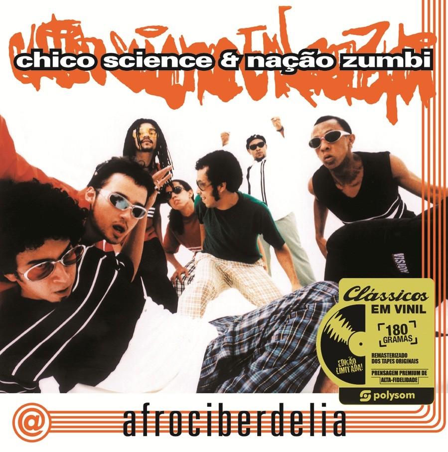 Chico Science e Nação Zumbi Afrociberdelia   LP
