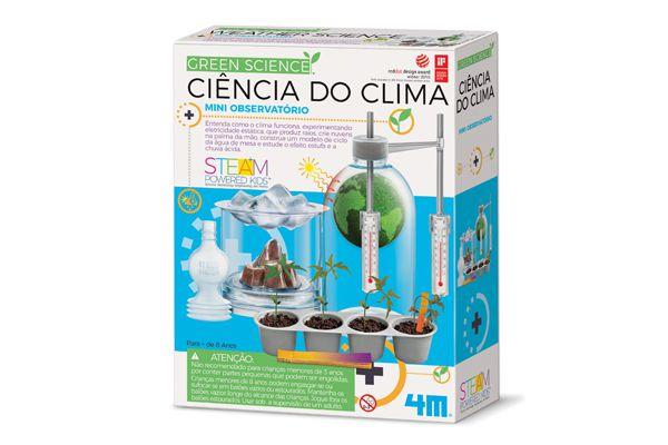 Ciencia do Clima  brinquedo   4M