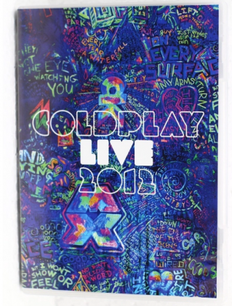 Coldplay Live 2012 DVD