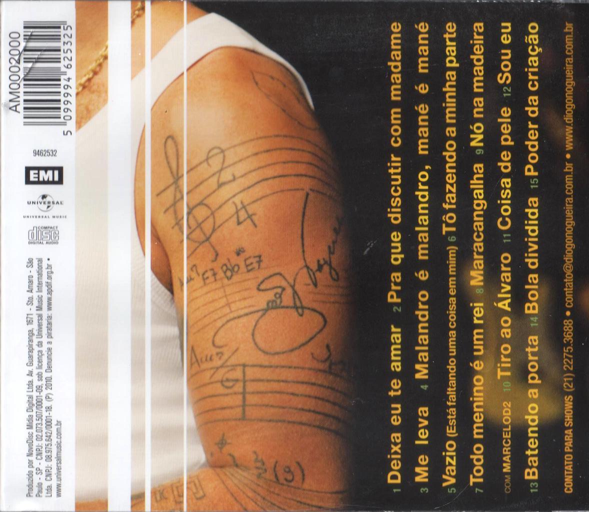 Diogo Nogueira Poder da Criação CD