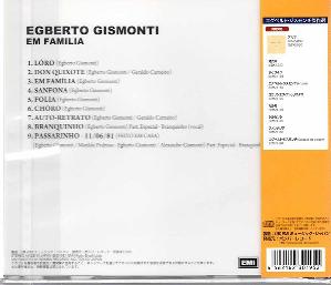 Egberto Gismonti Em Familia Cd