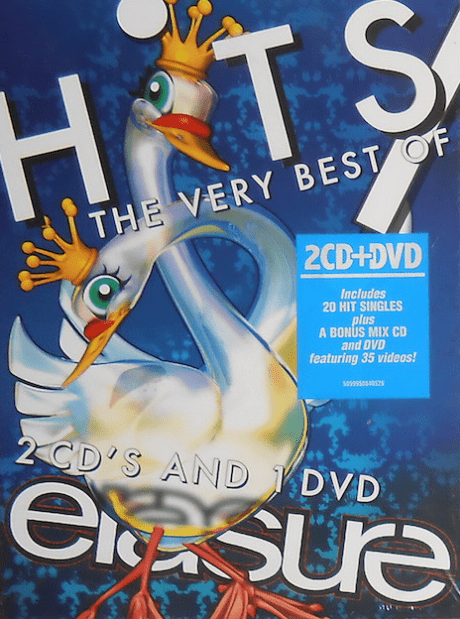 Erasure Hits The Very Best Of Erasure DVD e CD Duplo