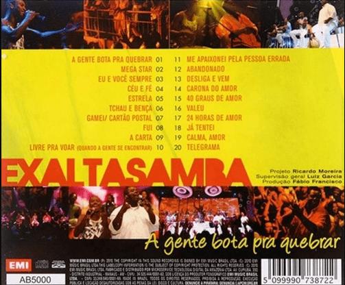 Exaltasamba - A Gente Bota Pra Quebrar CD