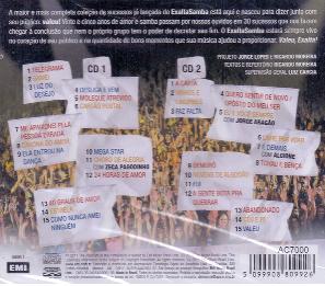 Exaltasamba Valeu Exalta Uma História de Samba em 30 Sucessos Cd Duplo