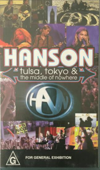 Hanson Tulsa Tokyo e The Middle Of Nowhere DVD