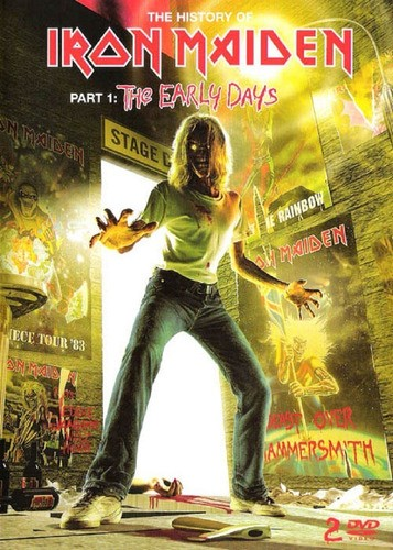 Iron Maiden The Early Days Dvd