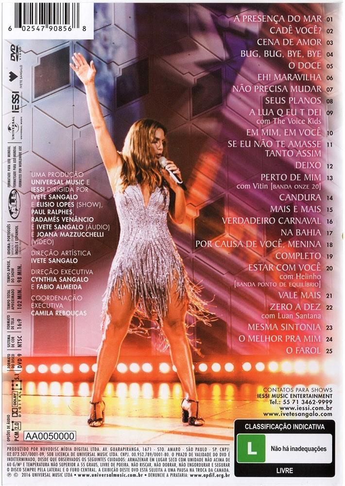 Ivete Sangalo Acustico em Trancoso  DVD