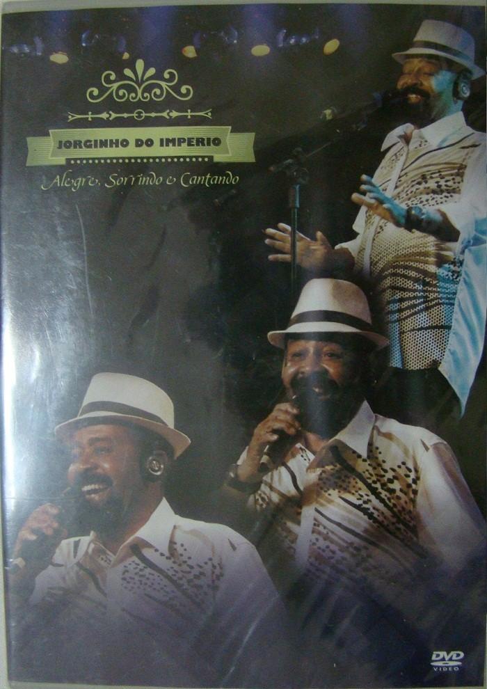 Jorginho do Imperio Alegre, sorrindo e Cantando   DVD