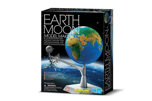Kit modelo Terra Lua   4M