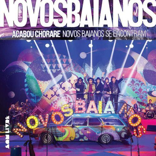 kit Novos Baianos - Acabou chorare lps