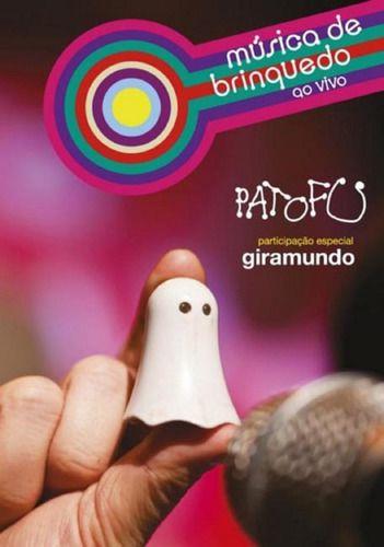 Kit Pato Fu Música de Brinquedo Ao Vivo CD + DVD
