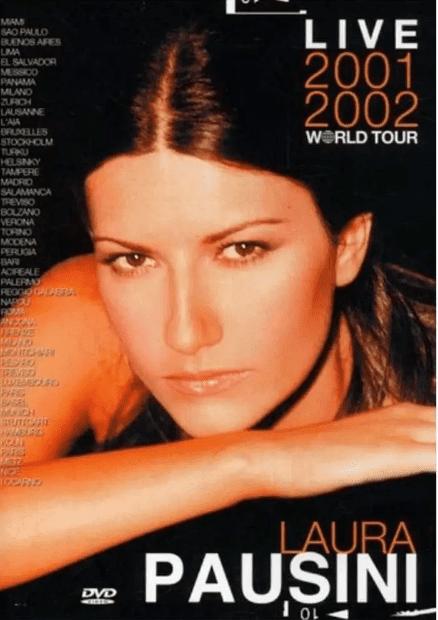 Laura Pausini Live 2001 2002 World Tour DVD