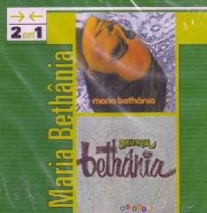 Maria Bethania 2 em 1 Maria Bethania e Maria Bethania Ao Vivo CD