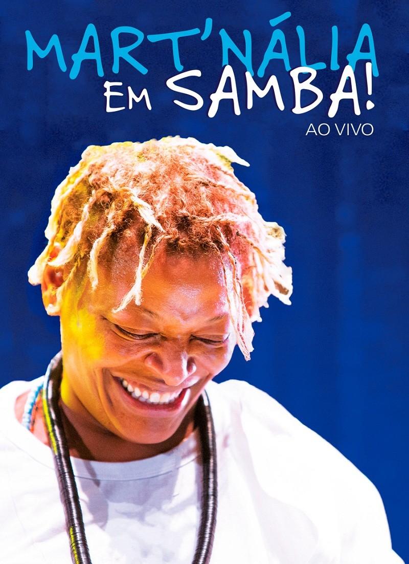 Martnalia Em samba  DVD