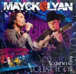 Mayck e Lyan Acustico Ao vivo CD