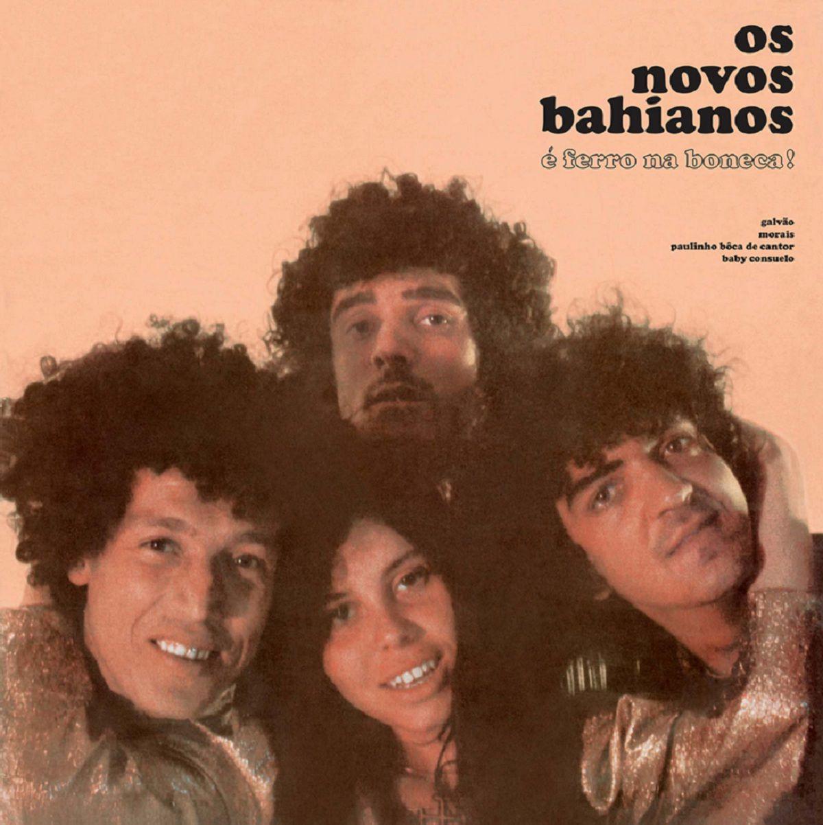 Novos Baianos Ferro Na Boneca LP