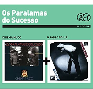 Os Paralamas do Sucesso 2 por 1 Cinema Mudo e O Passo do Lui Cd Digipack Duplo