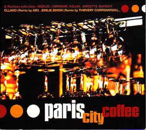 Paris City Coffee CD