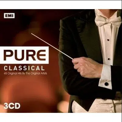 Pure Classical 48 Original Hits by The Original Artists CD Triplo