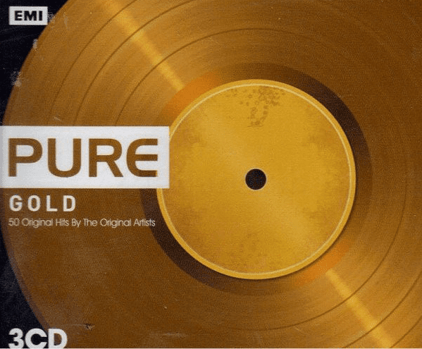Pure Gold 50 Original Hits by The Original Artists CD Triplo